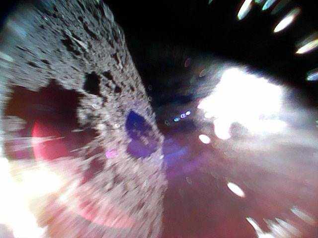 First Photos of Ryugu Asteroid