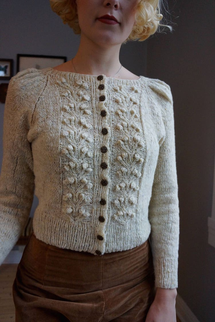 Knitting Jacket Pattern