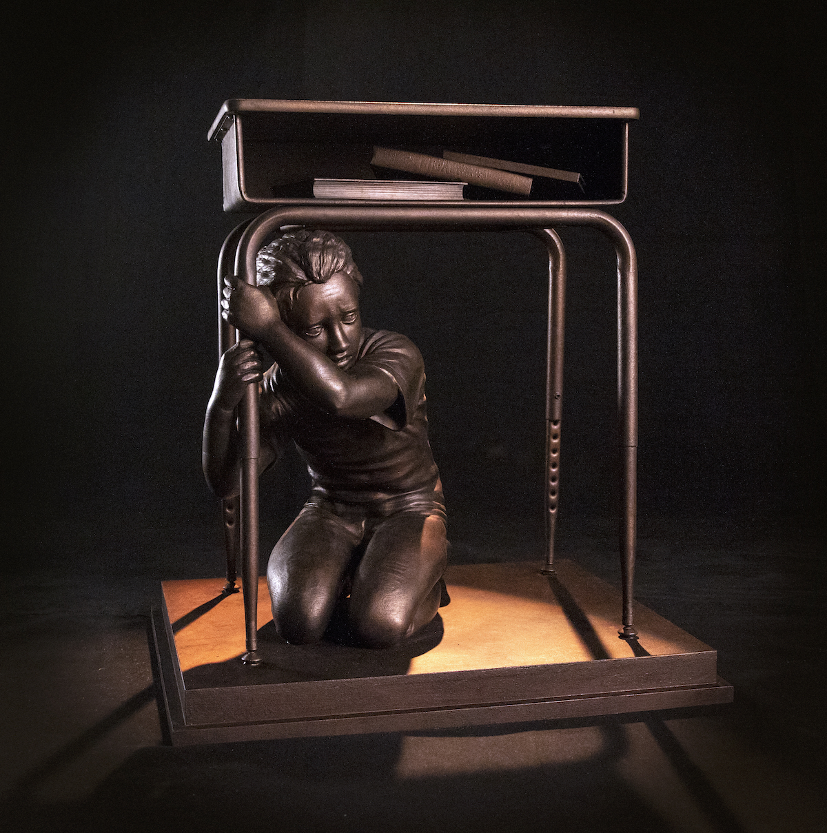Last Lockdown - Sculpture Against School Shootings