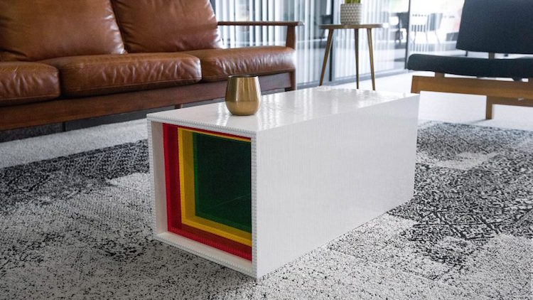 LEGO Furniture Coffee Table by Yusong Zhang