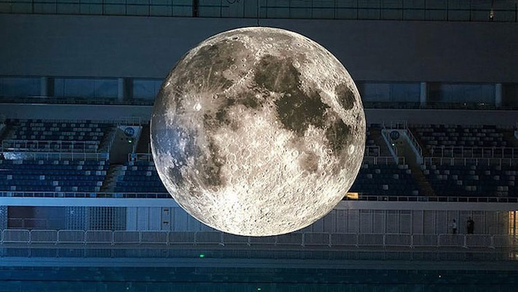 Giant Moon Art Installation Continues To Dazzle Viewers