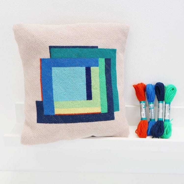 Needlepoint Pillowcase