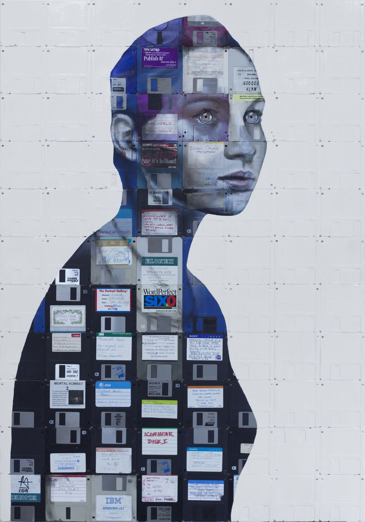 Technology Art by Nick Gentry