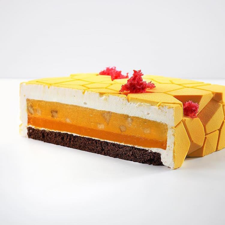 Arte de la torta de Origami por Dinara Kasko