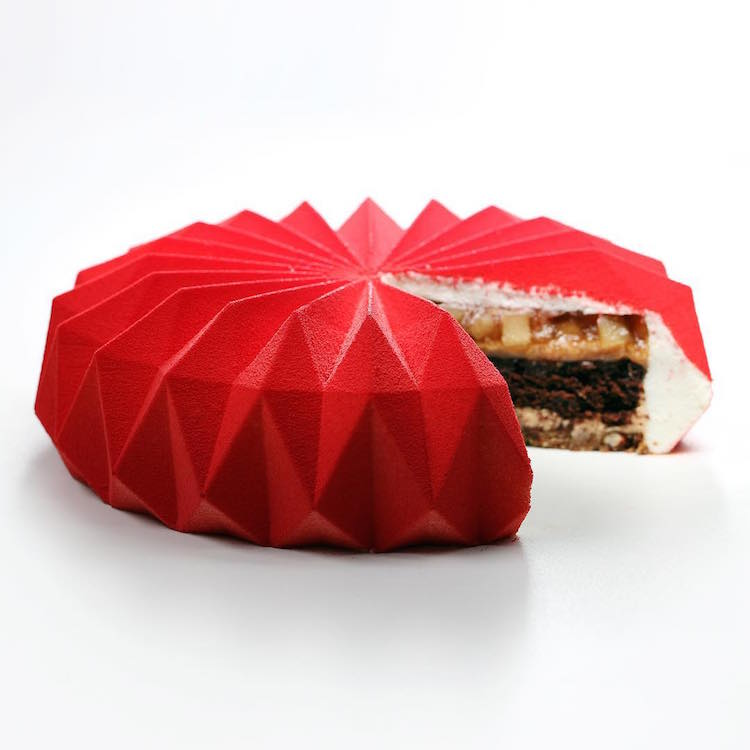 Origami Cake Art by Dinara Kasko