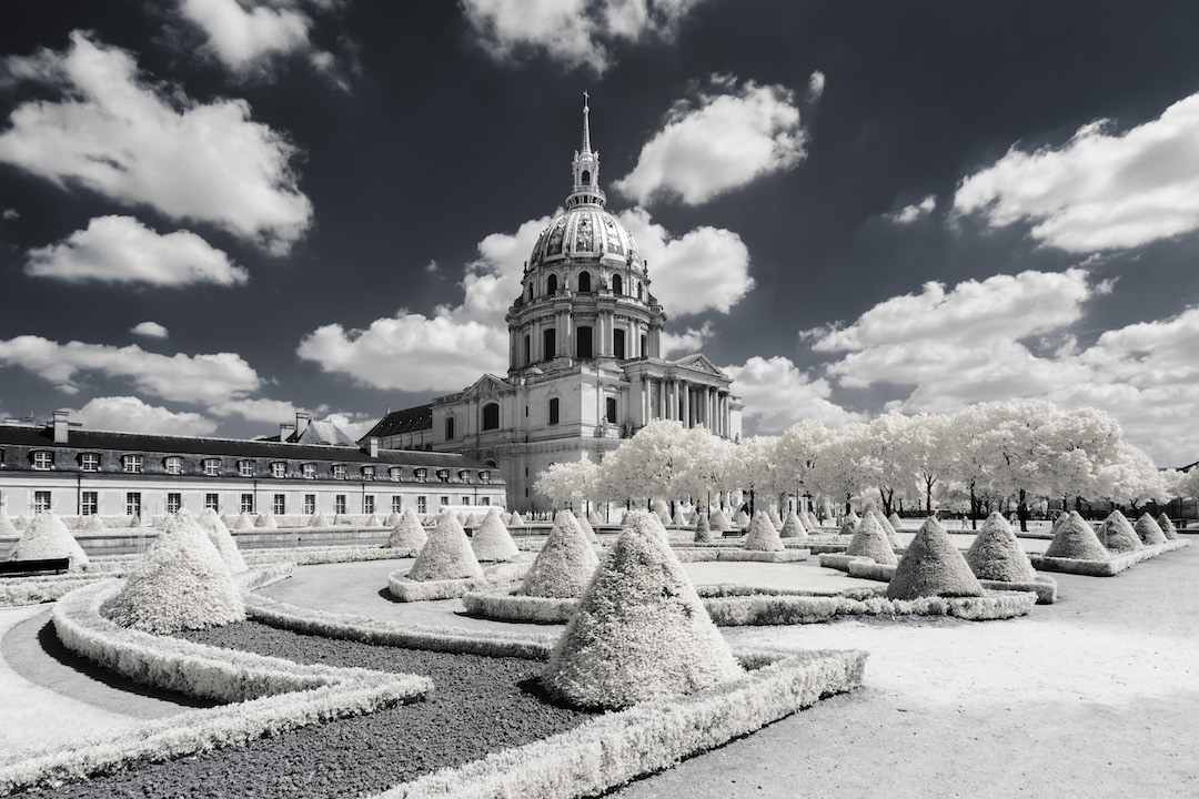 Digital Infrared Photography Photos of France