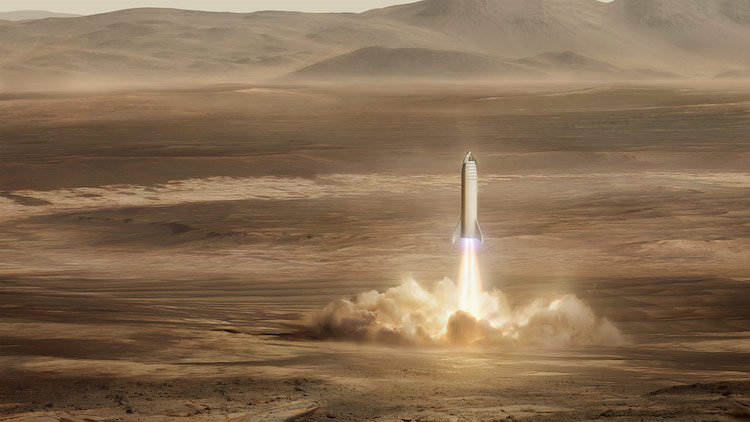 SpaceX - Mars Launch