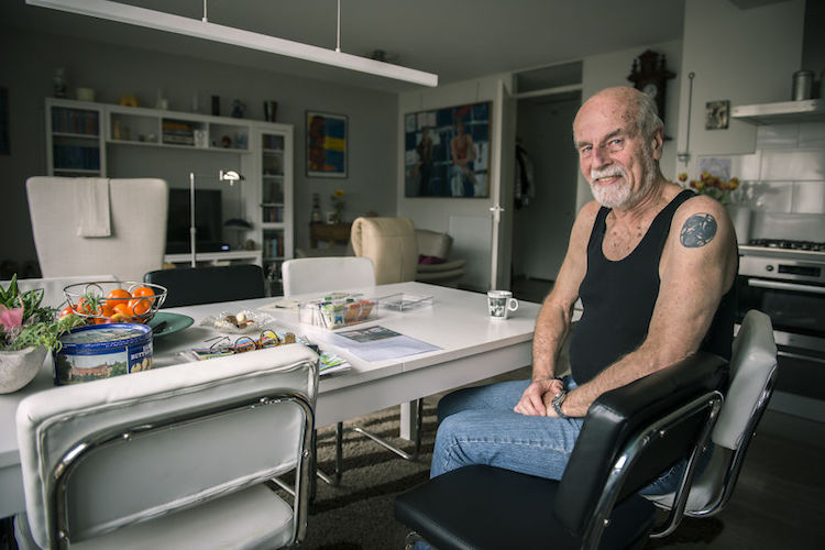 Senior Citizen With Tattoos