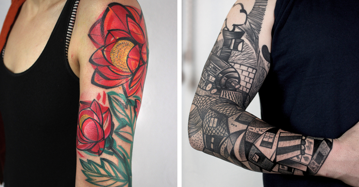 25 Tattoo Sleeve Ideas For Those Who Love Bold Body Art