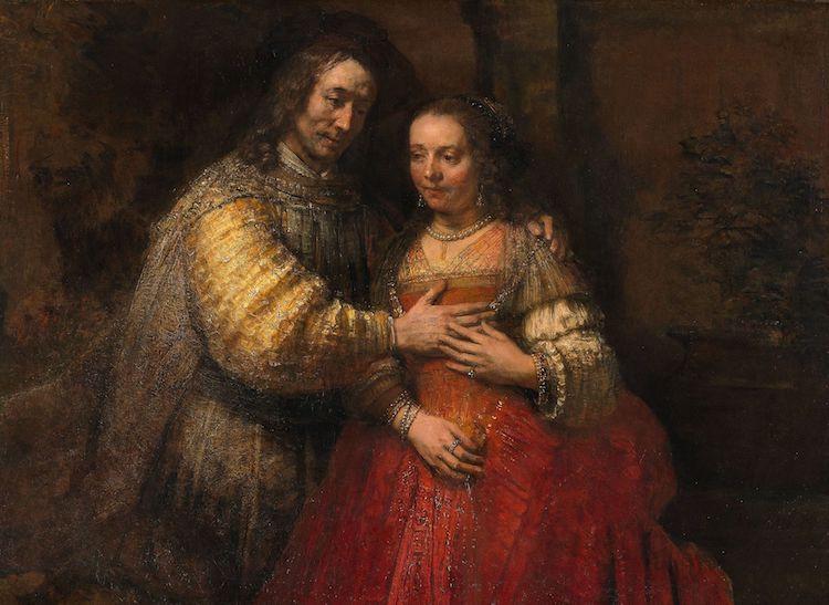 La novia judía de Rembrandt