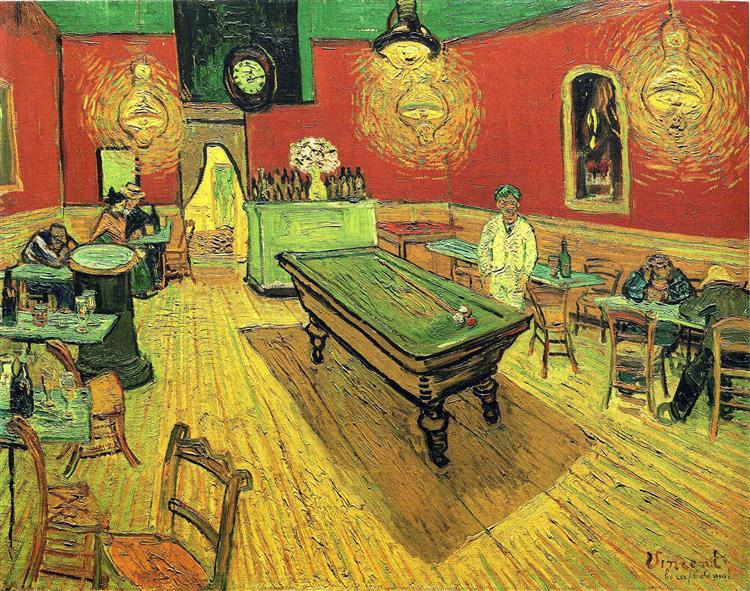 Vincent Van Gogh plomo rojo