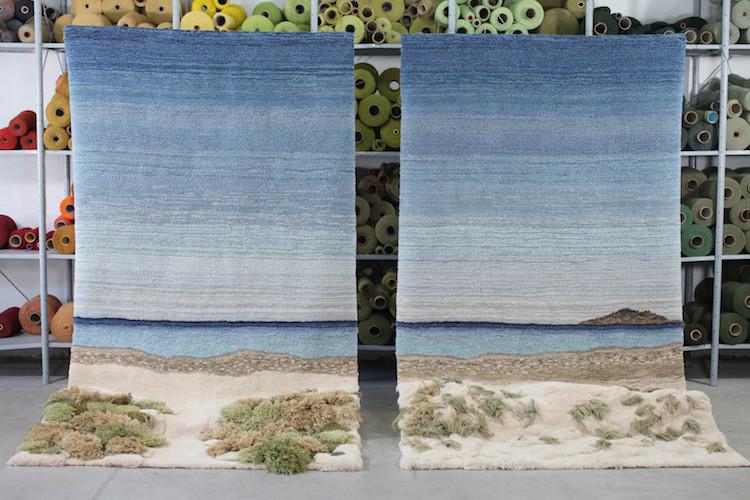alfombras y arte textil de argentina por Alexandra Kehayoglou