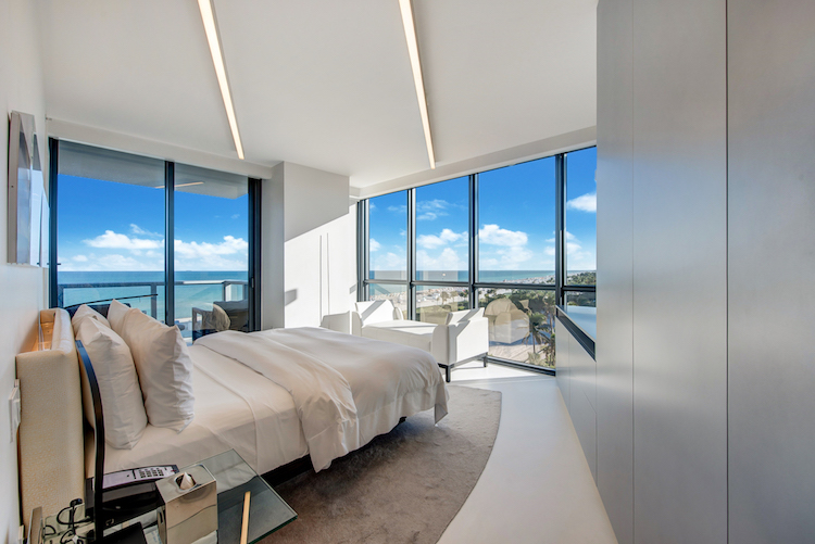 Interior of Zaha Hadid's Miami Home