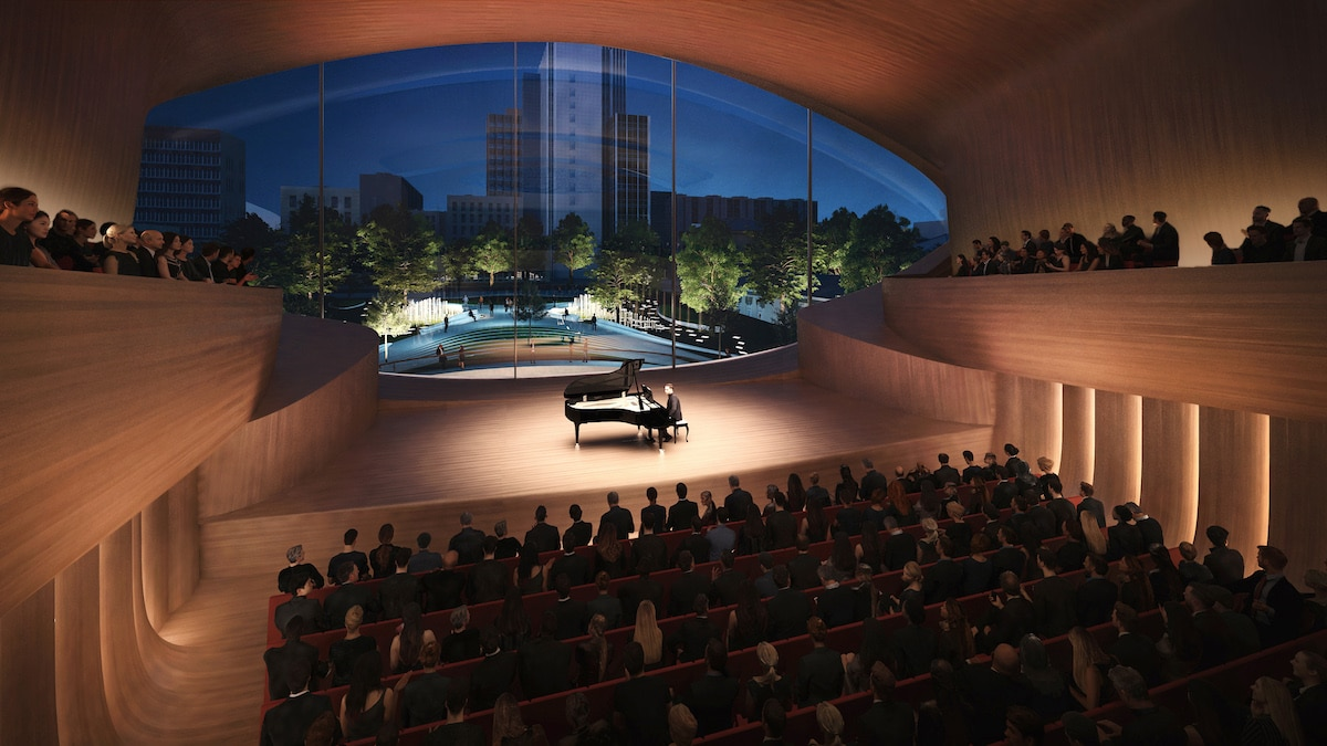 Zaha Hadid Architects - Sverdlovsk Philharmonic Concert Hall Render