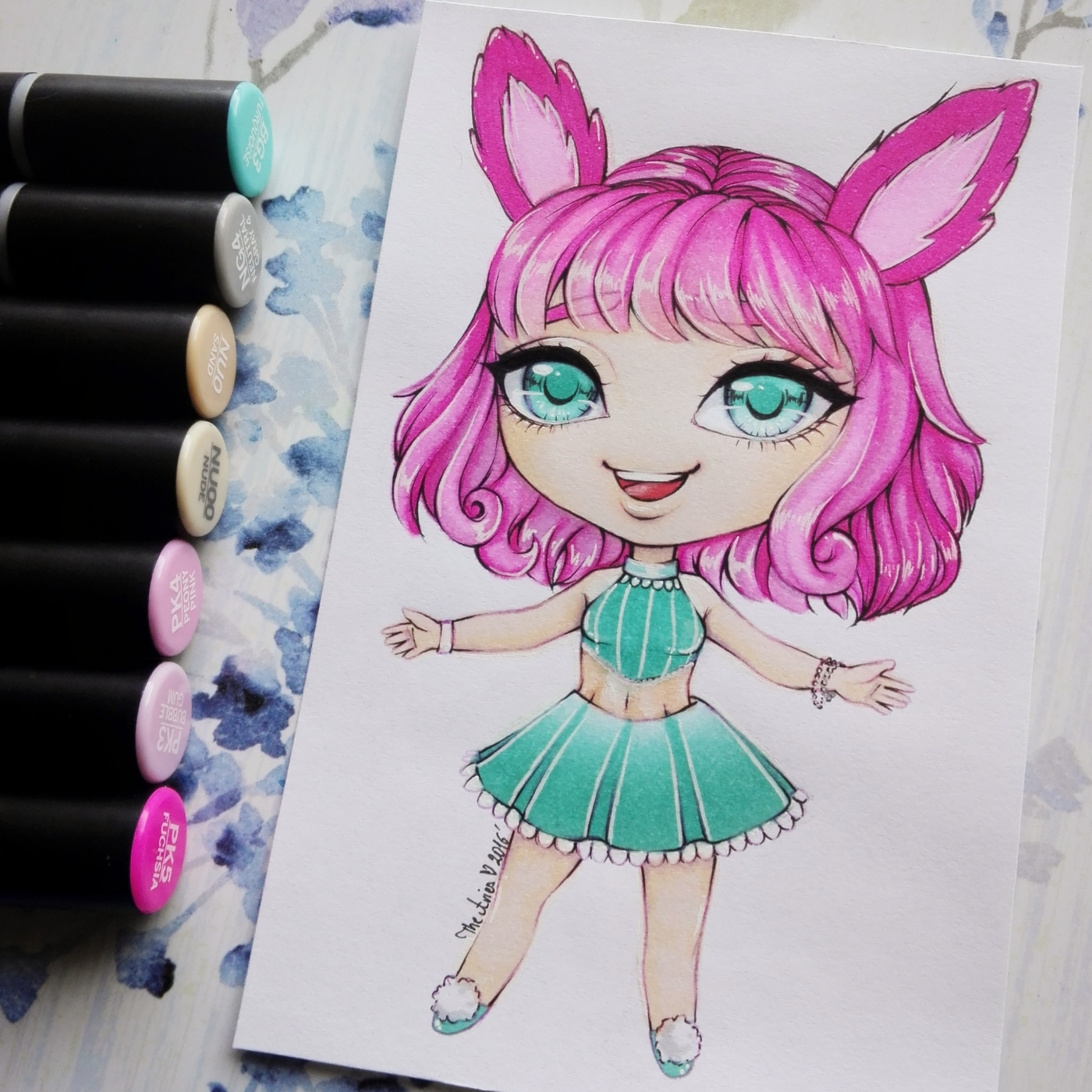 How to Draw Using Alcohol Markers
