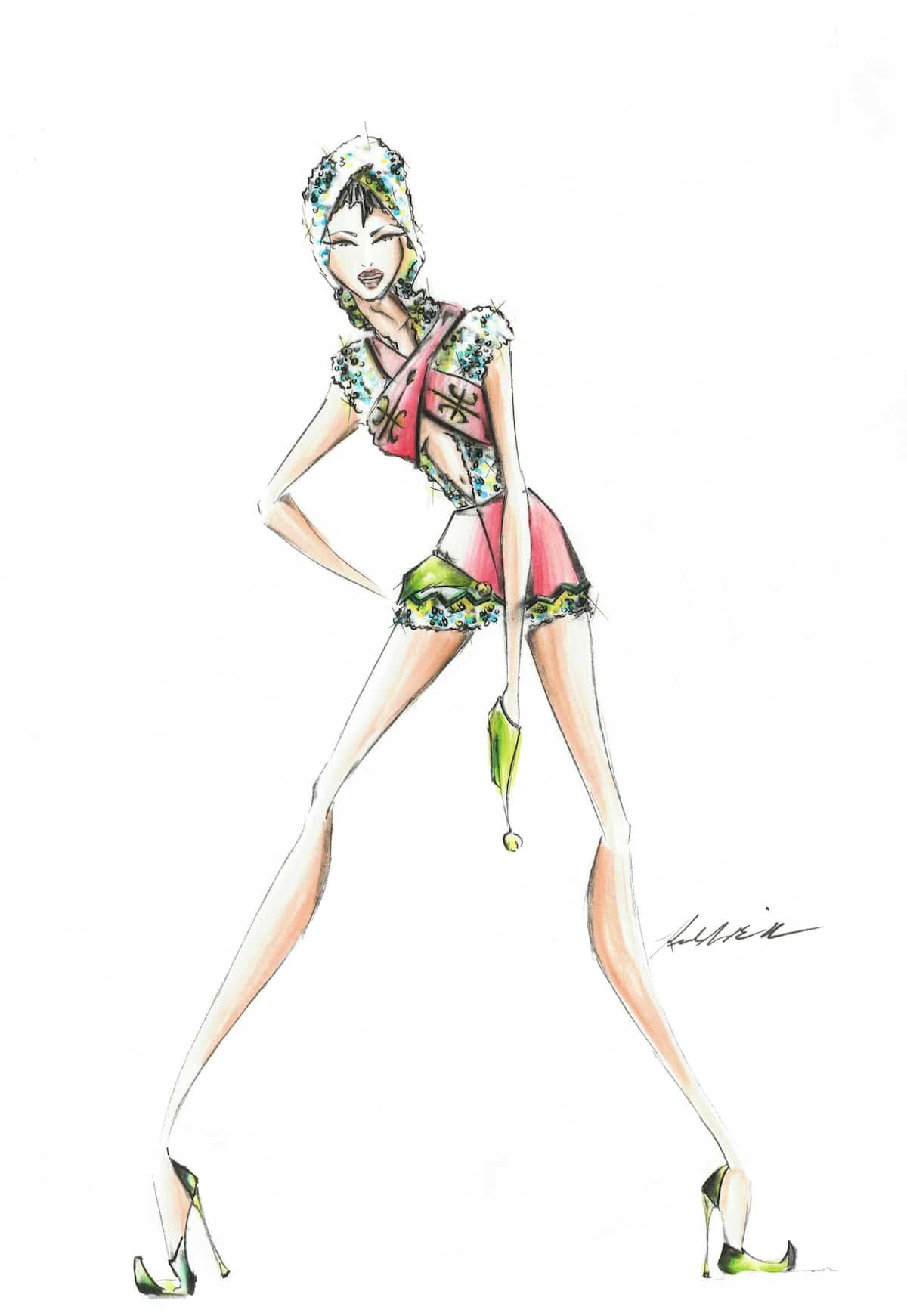 Fashion Illustration Markers