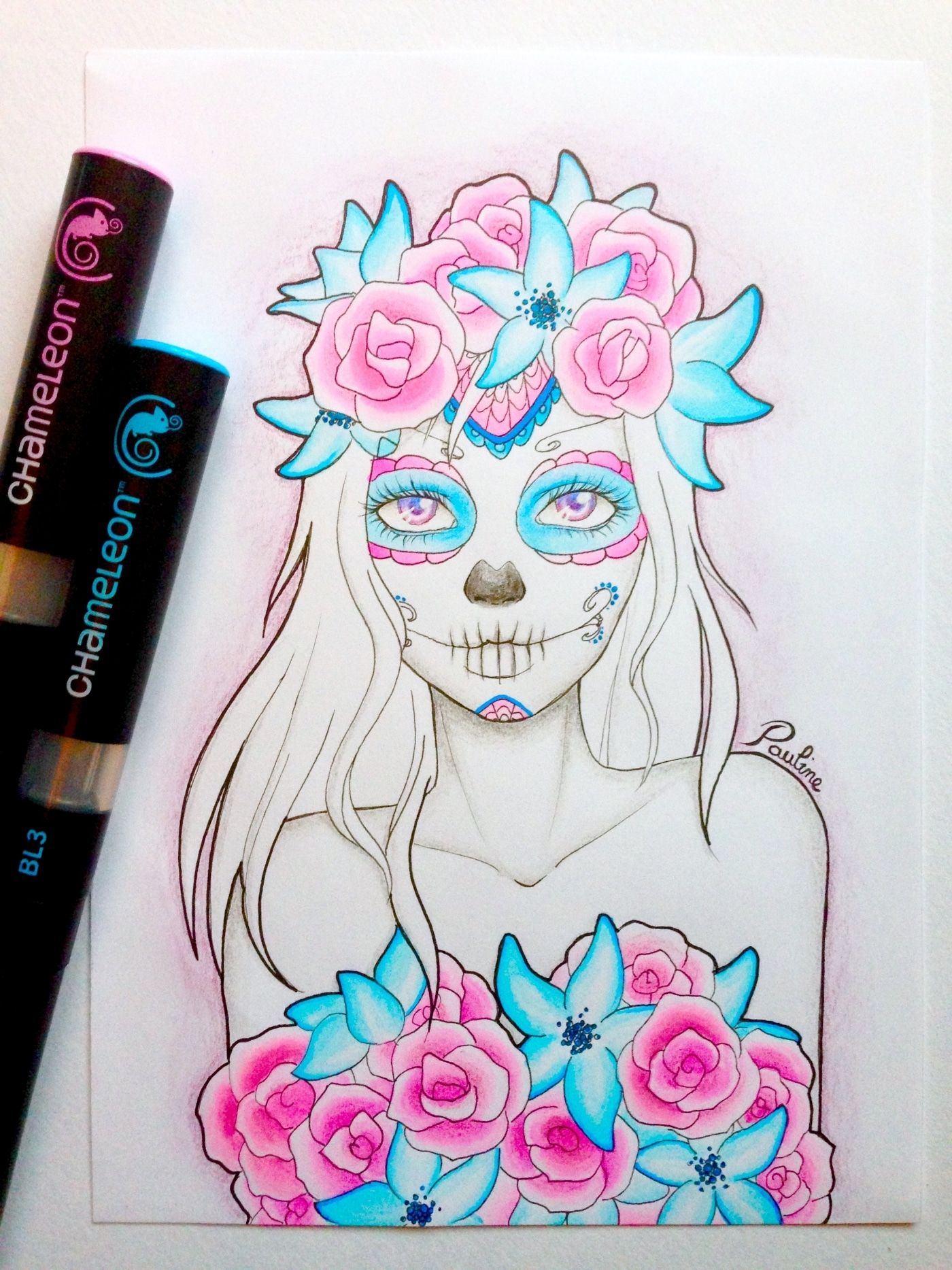How to Use Alcohol Markers to Draw