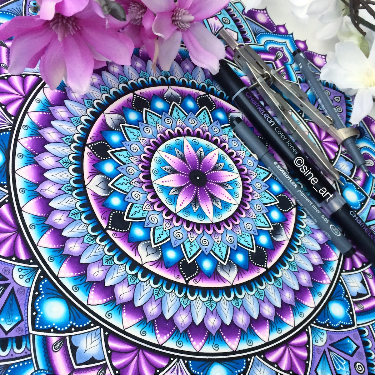 Chameleon Art Products - Adult Coloring