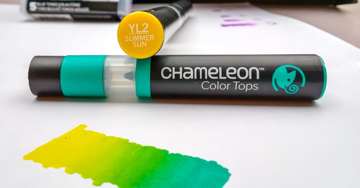Chameleon Pens Are Alcohol Markers That Let You Color Like No Other