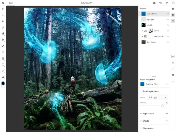 Full Photoshop for iPad