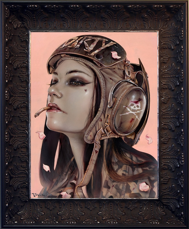Fine Art Portrait Painting by Brian M. Viveros