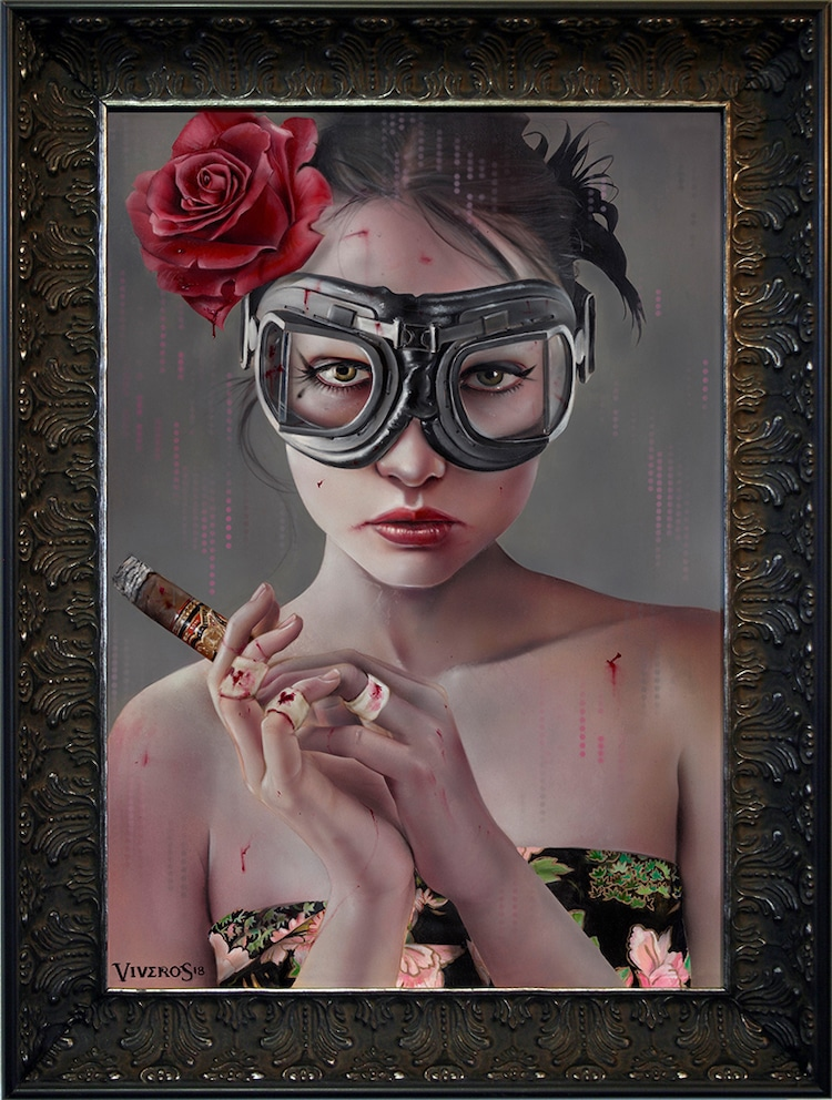 Portrait Painting by Brian M. Viveros