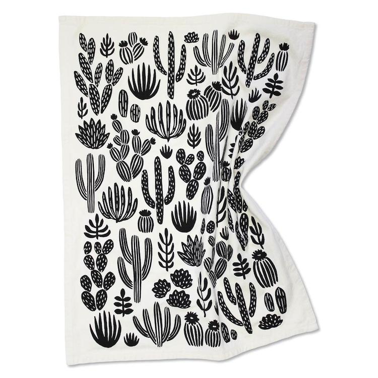 Cactus Tea Towel