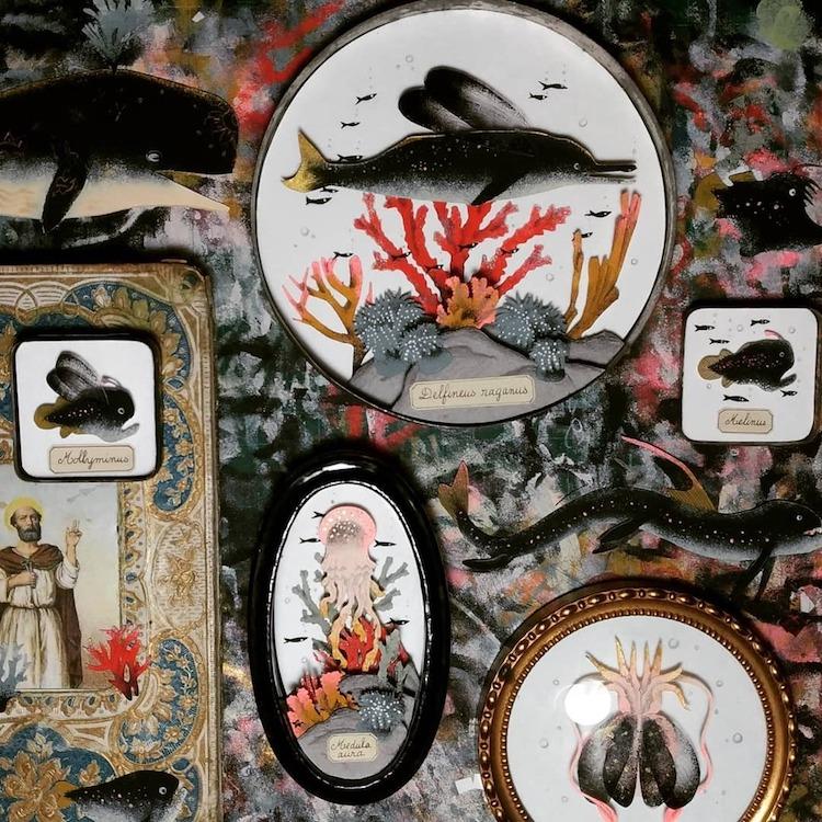 Diorama Art by Céline Chevrel