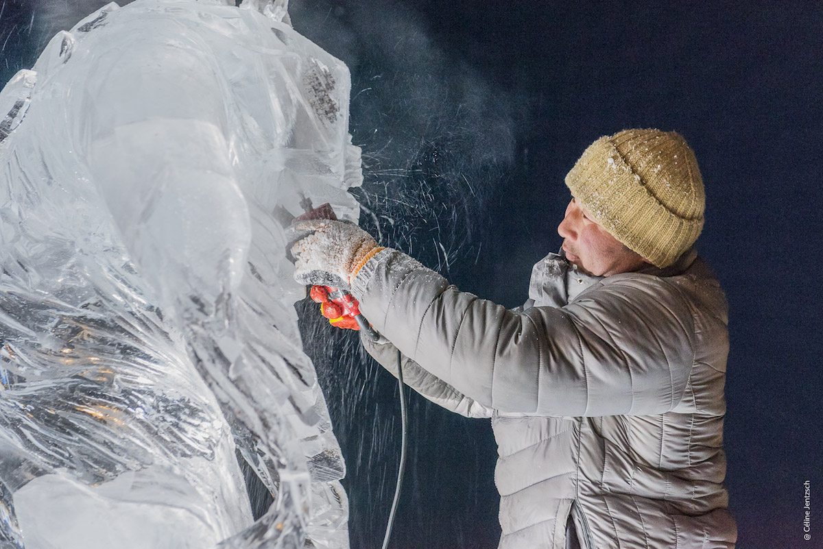 Ice Festival in Mongolia Photographed by Celine Jentzsch