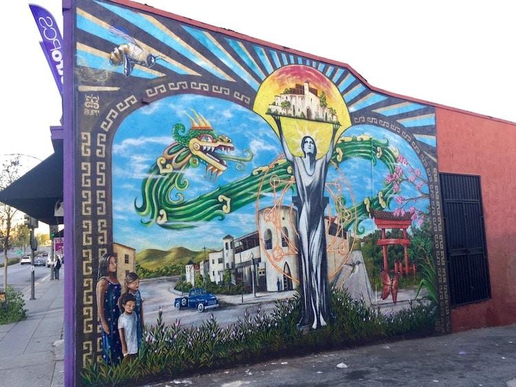 Clinton Bopp - Los Angeles Murals