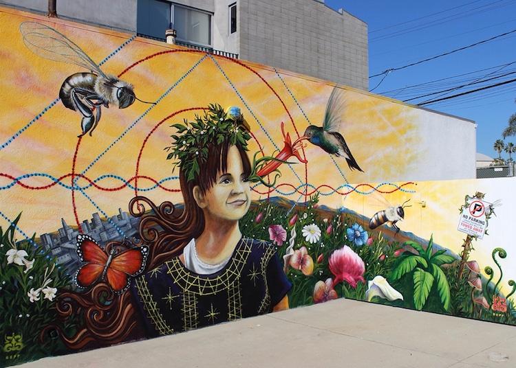 Clinton Bopp Street Art Los Angeles
