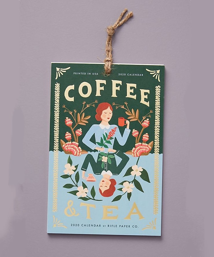 Coffee and Tea Calendar 2020