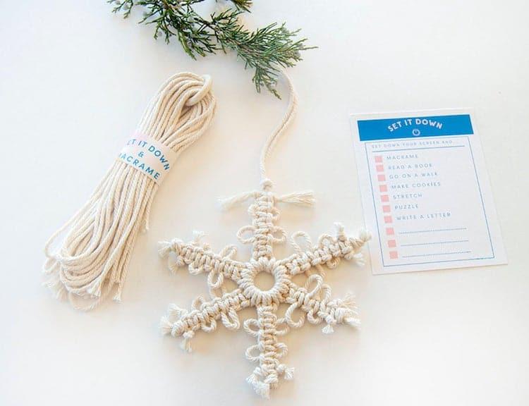 DIY Snowflake Kit