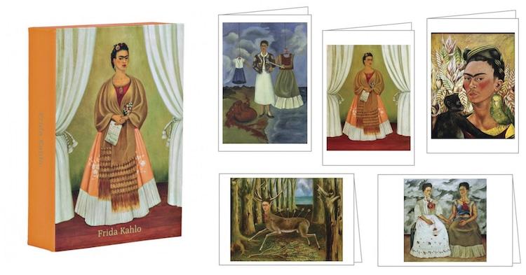 Frida Kahlo Cards Frida Kahlo Notecards Frida Kahlo Stationery