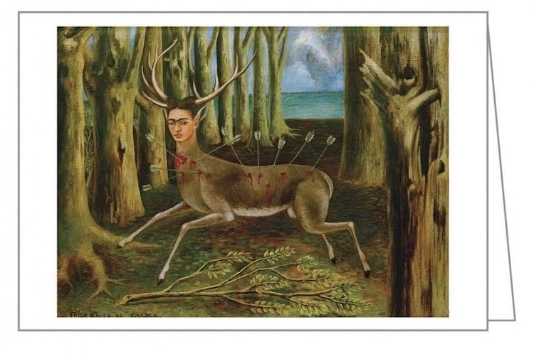 Postales de Frida Kahlo Tarjetas de Frida Kahlo Regalos Artisticos