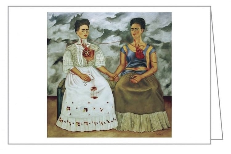 Frida Kahlo Cards Frida Kahlo Notecards Frida Kahlo Stationery