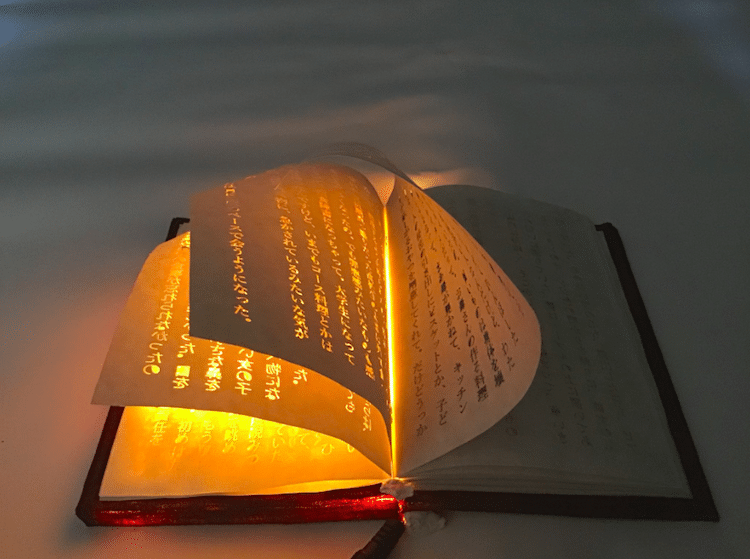 Glowing Magic Book by Uka Ohashi