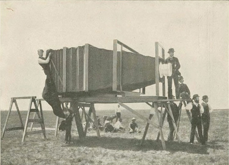 World's Largest Camera 1900