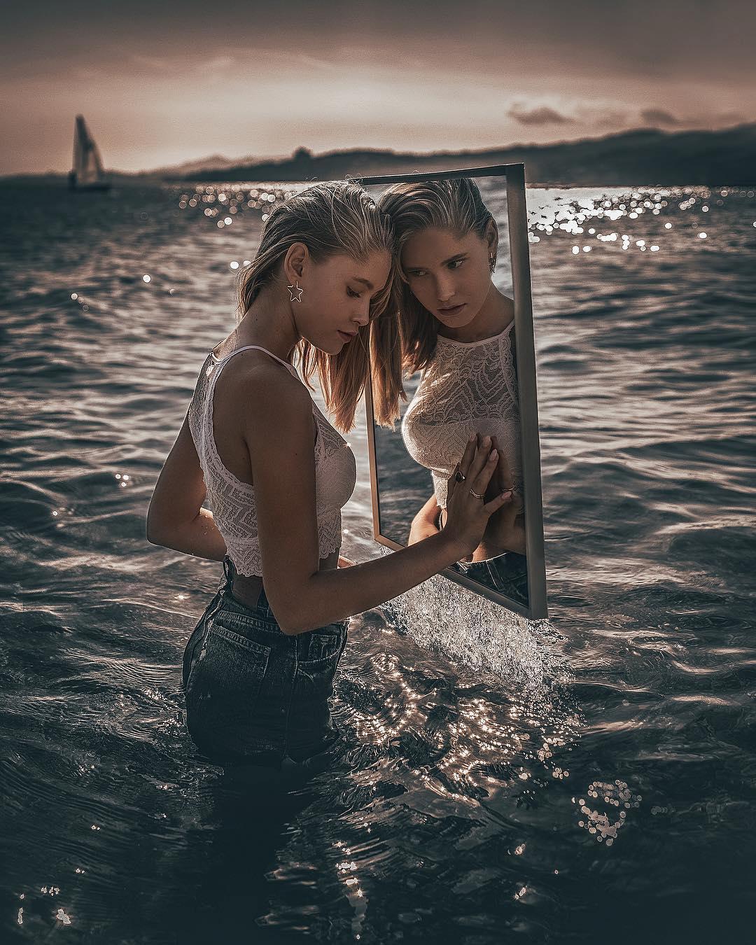 Fotos en el Mar Retratos por Joan Carol