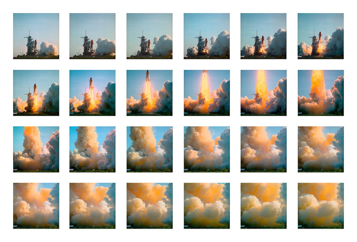Space Shuttle Discover Launch Sequence