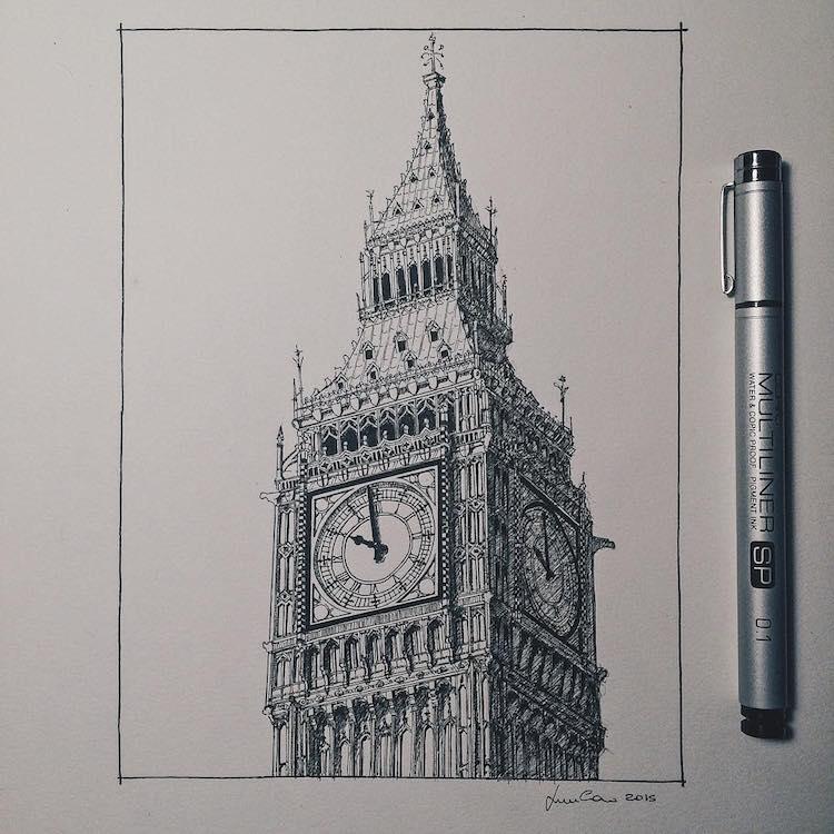 Lorenzo Concas Drawing