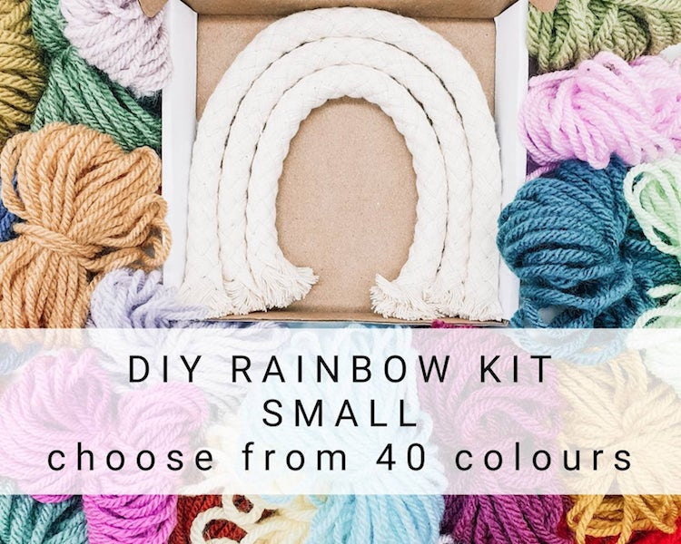 Macrame Rainbow Kit
