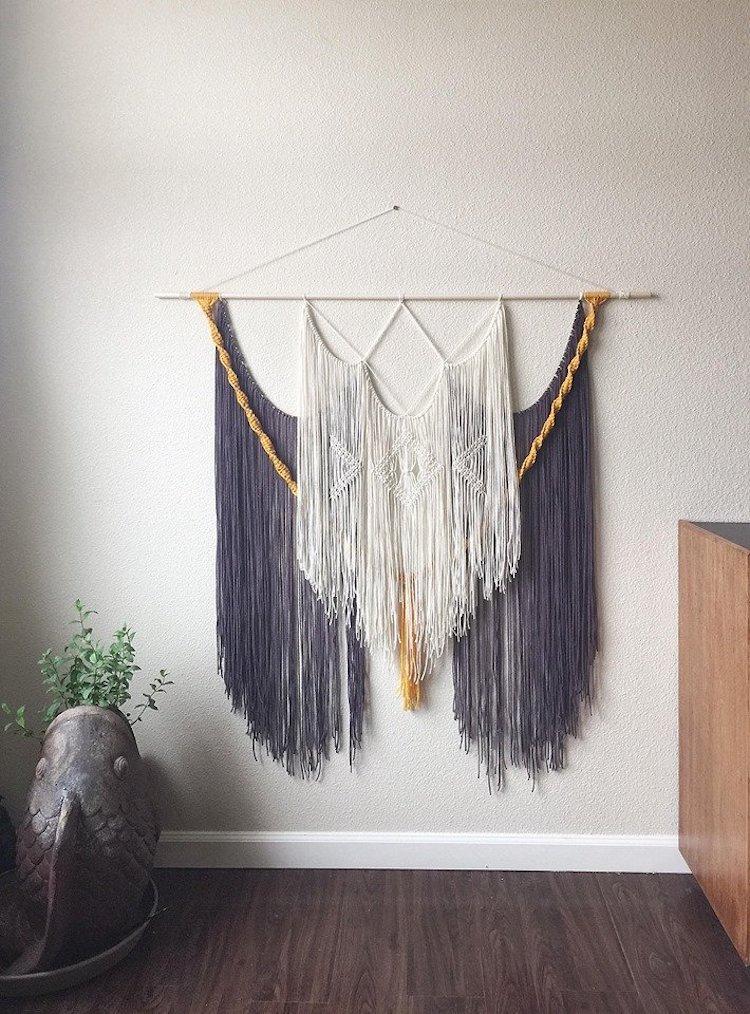 Modern Macrame Wall Hanging