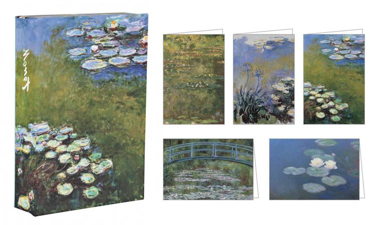 Postales de Monet Papelería de Monet