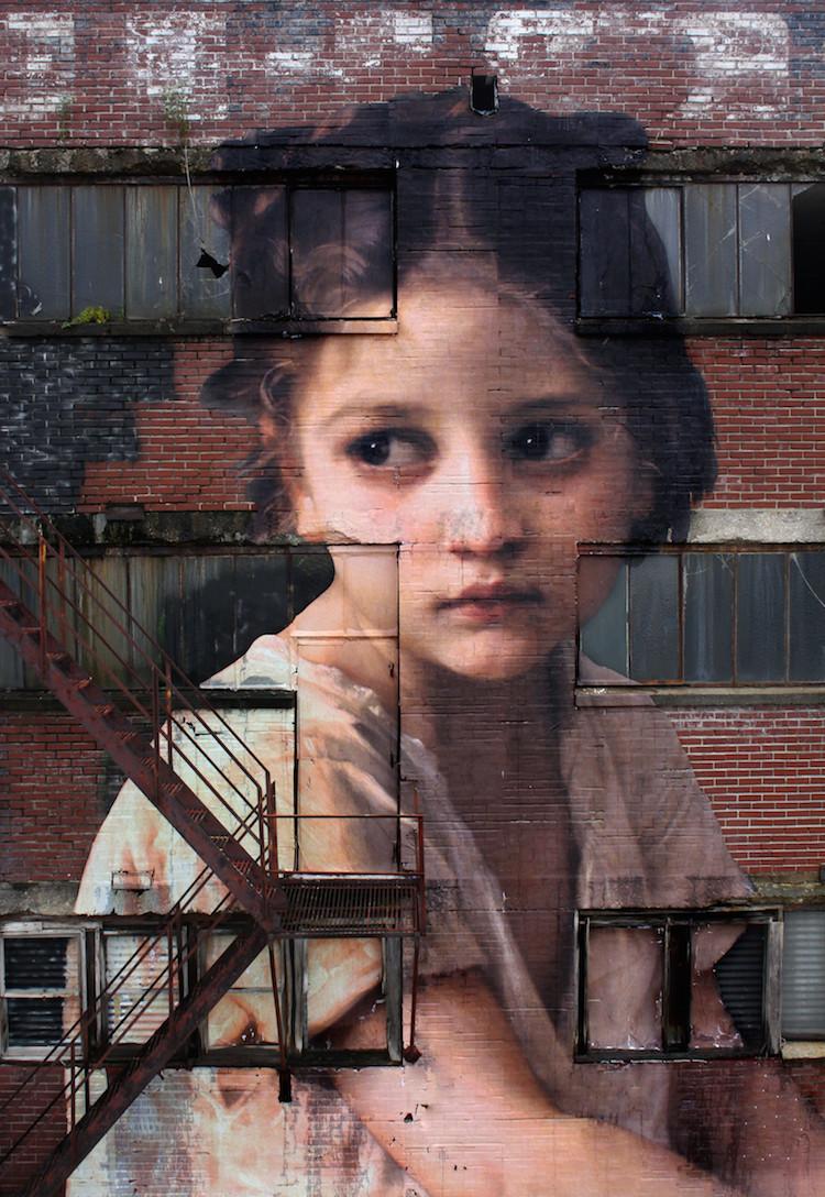 Mural de Pinturas Neoclásicas por Julien de Casabianca