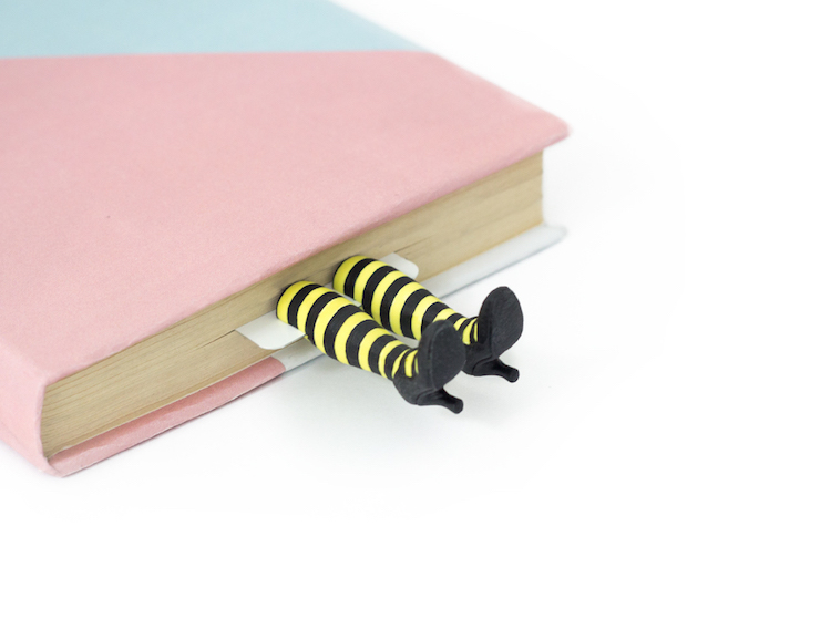 MyBOOKmark Leg Bookmarks