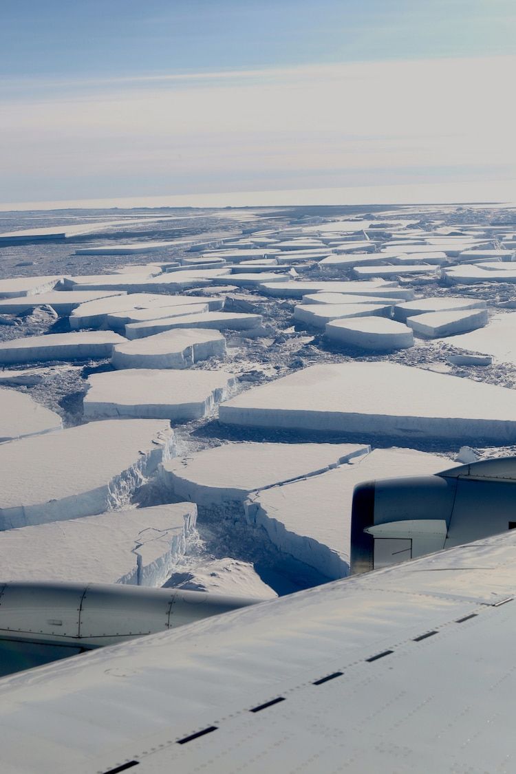 NASA Operation IceBridge Antarctica