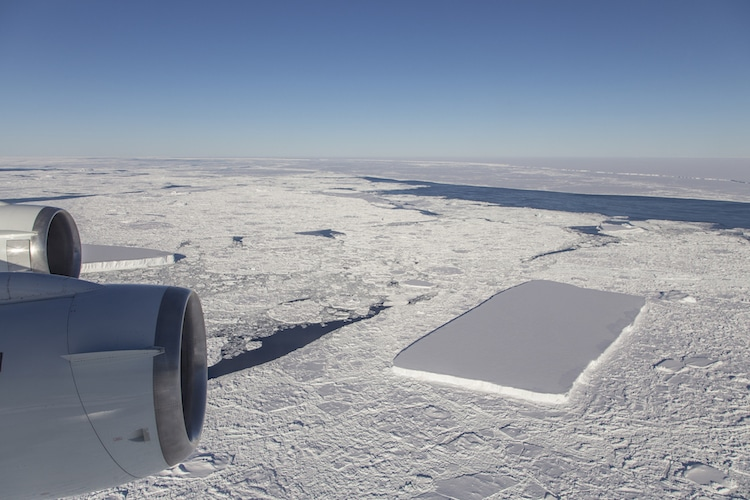 NASA IceBridge in Antarctica