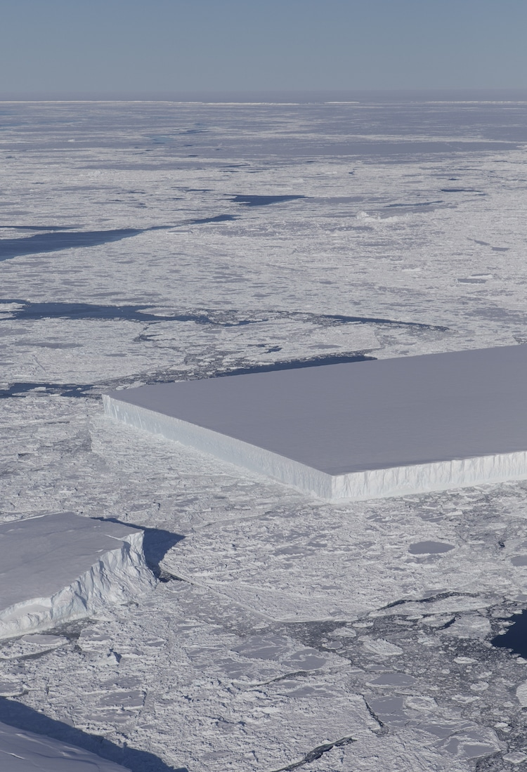NASA - Rectangular Iceberg