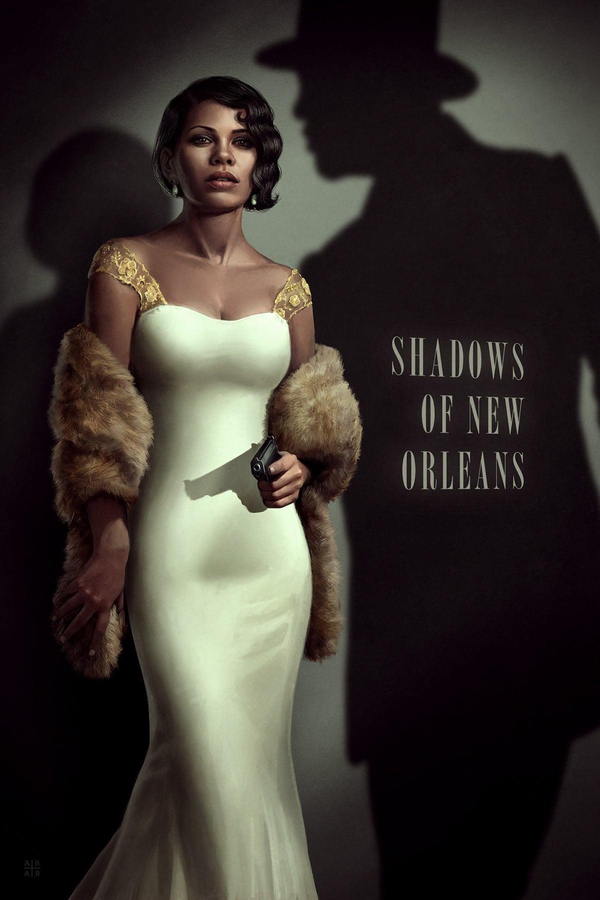 Princesas de Disney Reimaginadas como Cine Negro por Astor Alexander Ilsutración Digital